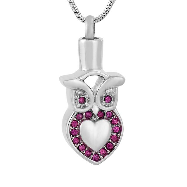 Owl Urn Necklace