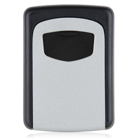 HHTL Wall Mounted 4 Digit Combination Key Storage Security Safe Lock Outdoor Indoor