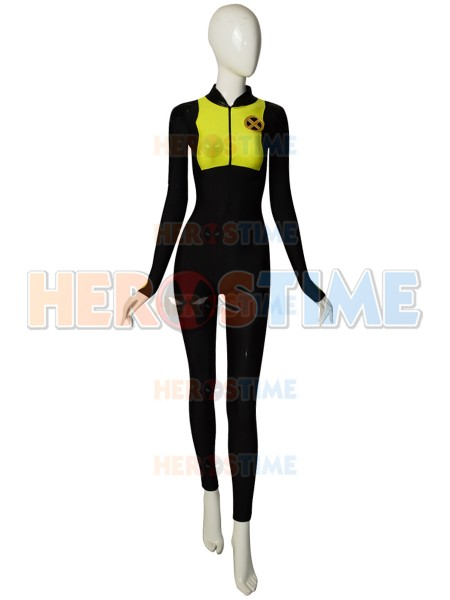 Deadpool 2 Costume 2018 Film Negasonic Teenage Warhead Superhero Cosplay Zentai Suit Halloween Catsuit With Belt Free Shipping