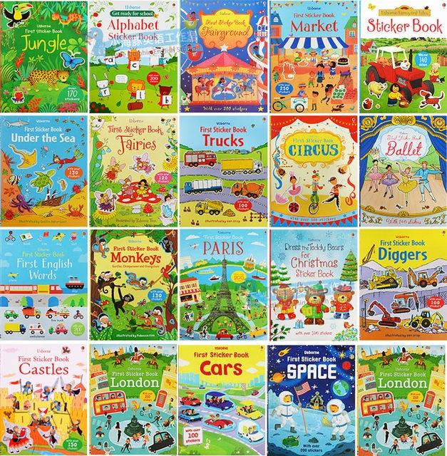 Tienda Online 5 libros/set Usborne niños cuadro inglés libro para ...