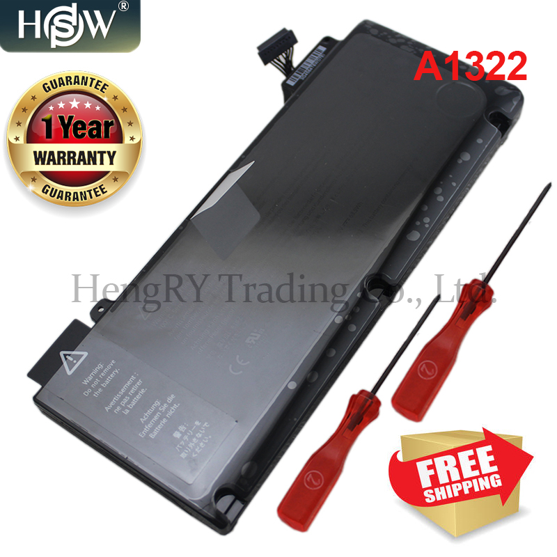 63.5Wh 10.95V Genuine A1322 A1278 Battery For Apple MacBook Pro 13