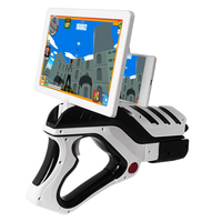 Augmented Reality VR Game AR GUN Shooting Game Smartphones Bluetooth Control Toy AR Gun For IOS