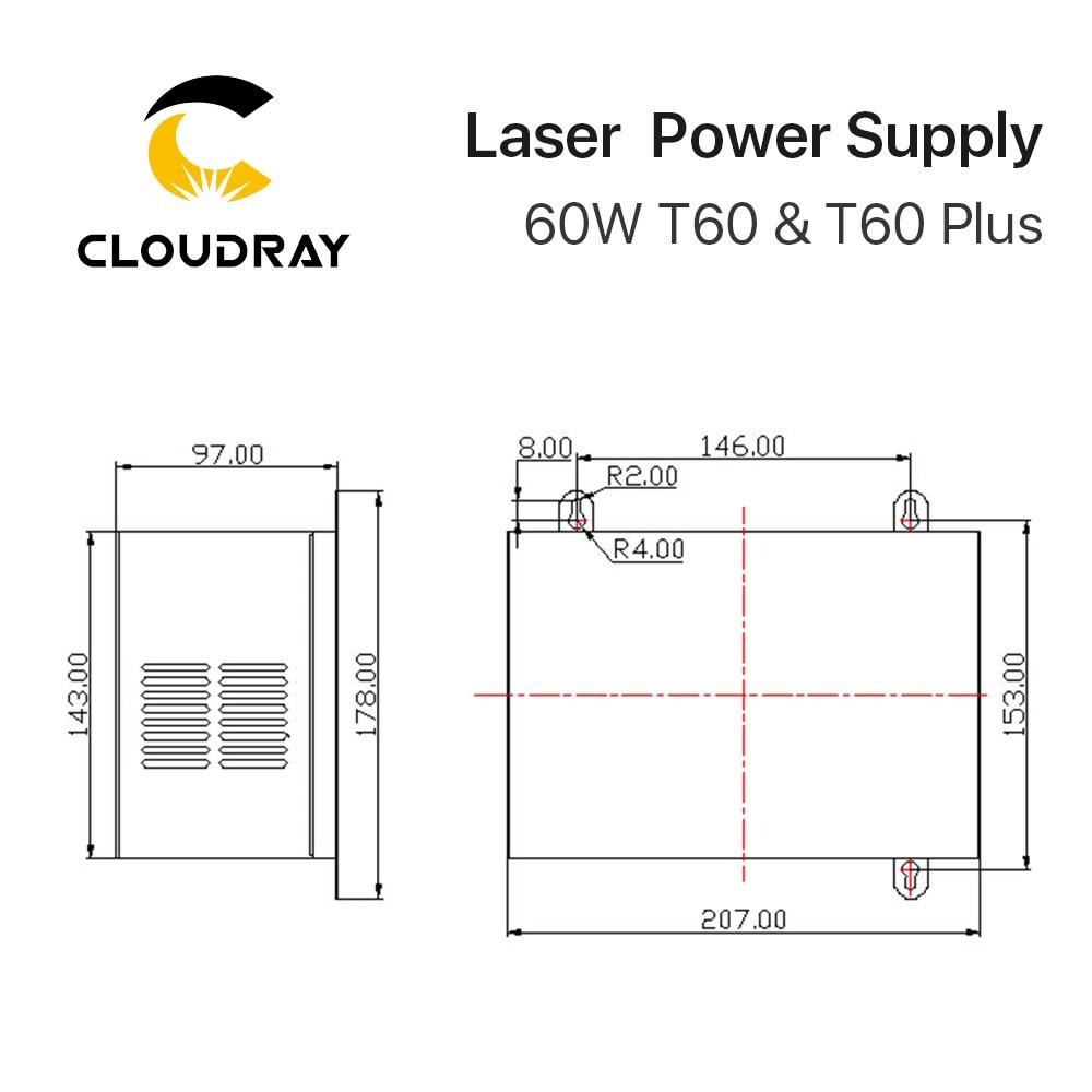 Cloudray 60W - 木工機械用部品 - 写真 6