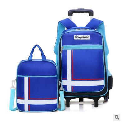 School wheeled bag Backpacks for Boys Kid's School Bag On wheels Children luggage Rolling Bags Trolley backpack bags for girls