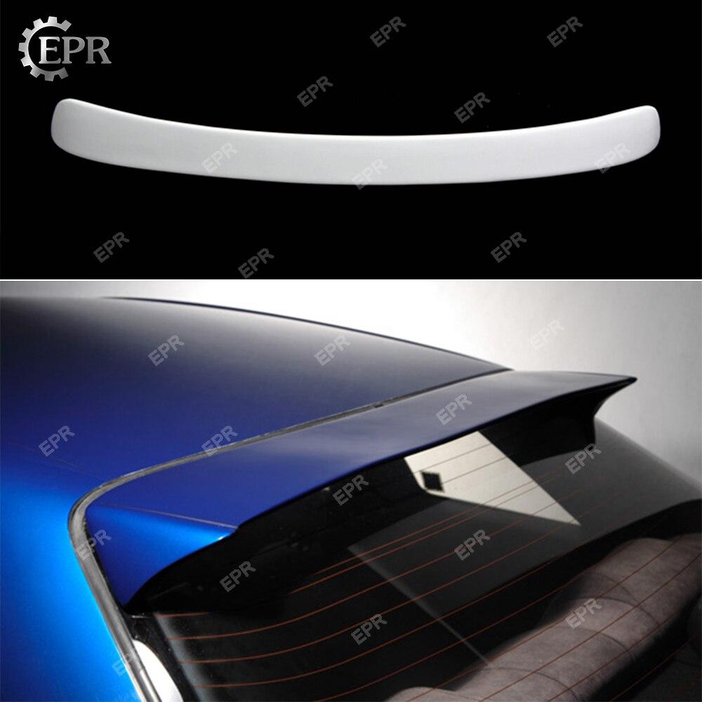 Pour Nissan horizon R34 GTR FRP fibre de verre toit becquet Kit de carrosserie pièce de réglage pour GTR R34 aile de toit en Fiber de verre (juste pour 2 portes)