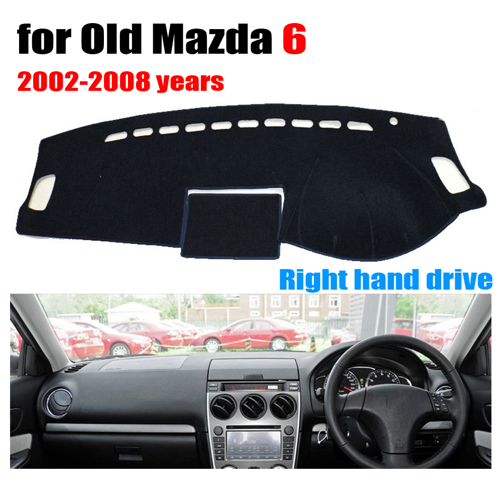 Car dashboard cover mat for Old Mazda 6 2002-2008 years Right hand drive dashmat pad dash mat covers auto dashboard accessories