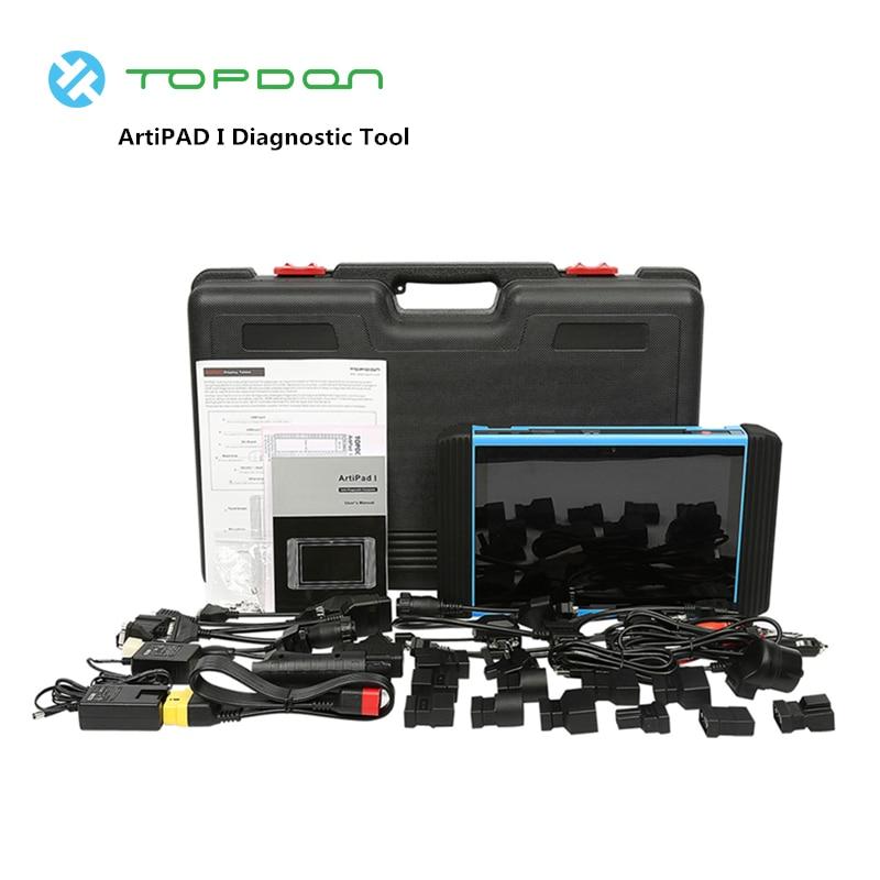 TOPDON ArtiPAD I Diagnostic Tool OBD2 Scanner ECU Coding Programming Professional EOBD Car
