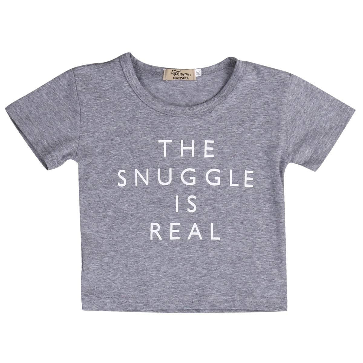Summer Newborn Kids T Shirt Summer Clothes Baby Boy Girl Cotton Short SleeveT Shirts Outfit Tops Tee