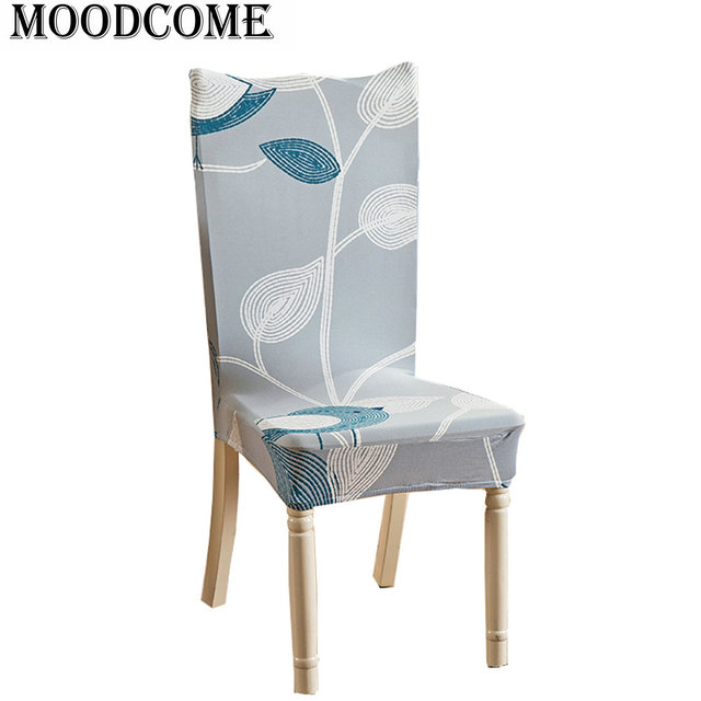 Eetkamerstoelen 4 Of 6.Us 3 15 6 Off Leaves Cover For Chair Dining Room Stoelen Hoesjes Drop Shipping New Arrival Spandex Office Chair Cover In Chair Cover From Home