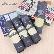 1PC Novelty My Neighbor Totoro Rolling Vintage Bandage Creative Pen Bags School Office Supplies Multipurpose Pencil Case