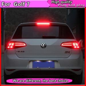 Image 3 - Car Styling for VW Golf 7 Tail Lights 2013 2015 Golf7 MK7 LED Dynamic turn signal Tail Light GTI R20 Rear Lamp