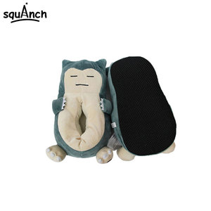 Image 3 - Anime Snorlax Slippers Animal Party Cartoon Character Women Men Unisex Adult 35 42 Size Winter Kawaii Shoes Wholesale