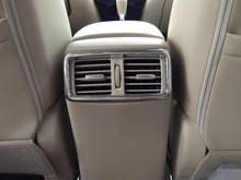 Auto inerior accessories,rear air vent intake trim sticker for Nissan X-tail 2014, car styling