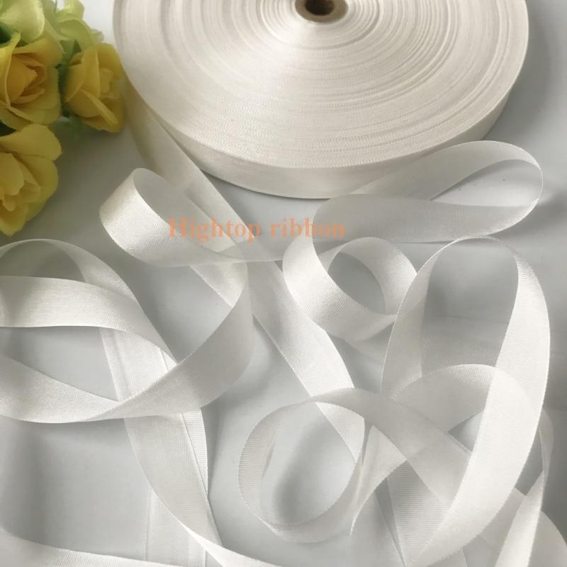 Welp Goede Koop 10mm * 150 M Wit Echt Solid Pure Zijden Lint Voor AL-85