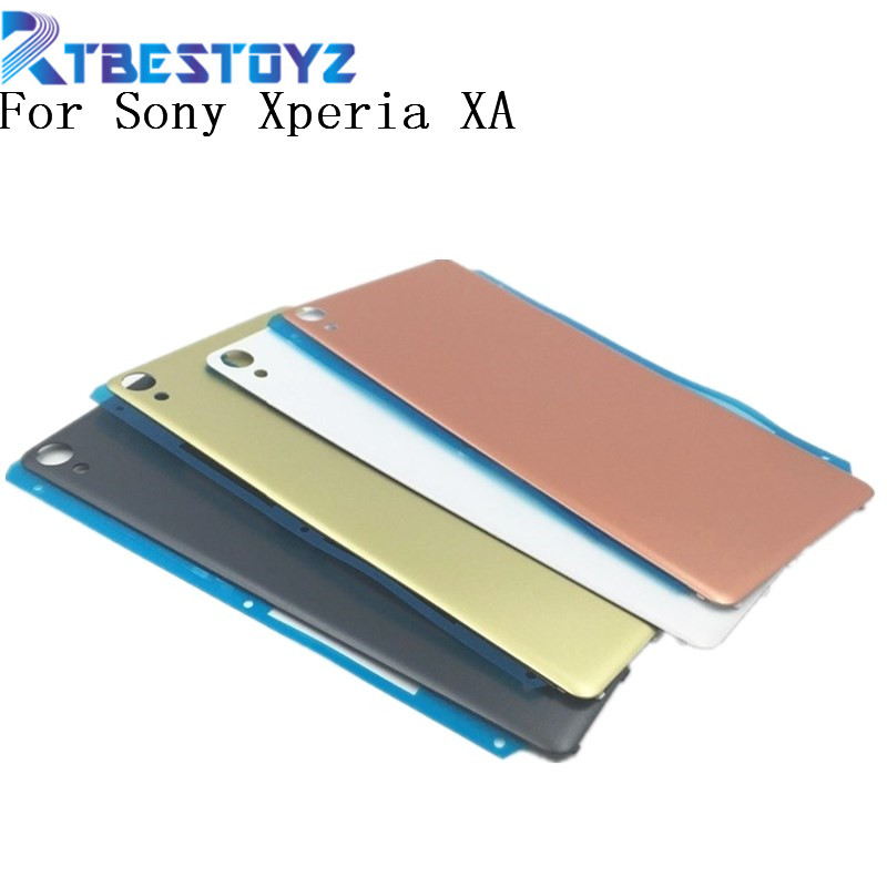 <font><b>Battery</b></font> Cover <font><b>Case</b></font> For <font><b>Sony</b></font> <font><b>Xperia</b></font> <font><b>XA</b></font> F3111 F3113 F3115 Rear Back Housing <font><b>Case</b></font> With Logo image