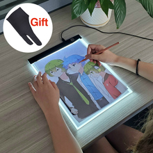 LED Light Box Drawing Tablet Graphic Pad Tracer Writing Painting Ultra-thin Copy Board Artcraft Sketch Digital Hotfix Rhinestone a4 led graphic tablet light box tracer digital tablet writing painting drawing ultra thin tracing copy pad board artcraft sketch