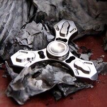 A33 Multi function fingertip gyro titanium alloy tc4 self defense necklace broken window device survival EDC tool