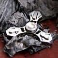A33 Multi-funzione di punta delle dita gyro titanium della lega tc4 di auto-difesa collana rotto la finestra del dispositivo di sopravvivenza edc STRUMENTO