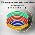 Горячий продавать 8 цветов декоративная защитная крышка обода колеса наклейки для мотороллер 10 дюйм(ов) водонепроницаемый солнцезащитный крем ПВХ