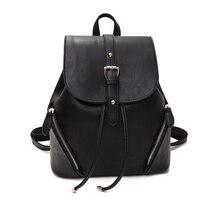 Ecoparty Colleage школьный женский высокое качество искусственная кожа рюкзак сладкие дамы ранец опрятный Повседневный стиль женские рюкзак
