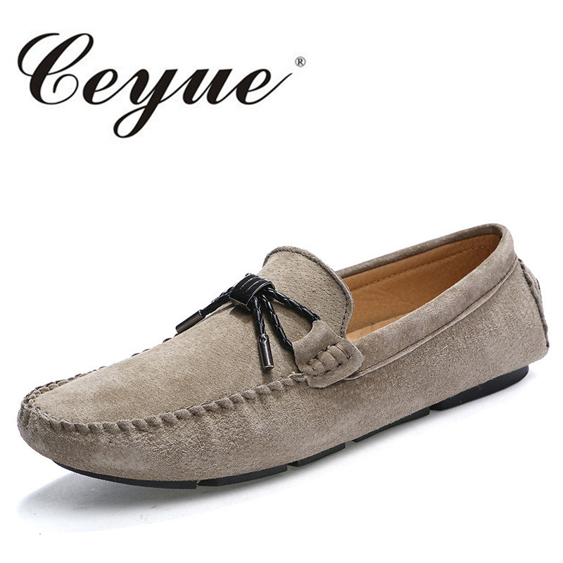 Ceyue New Fashion Driving Loafers Men Casual Slip On Shoes Mens Low Heel Flats Outdoor Driving Shoes Zapatillas Deportivas Homme npezkgc new arrival mens shoes casual cow leather men loafers moccasins fashion breathable low heel slip on men flats shoes