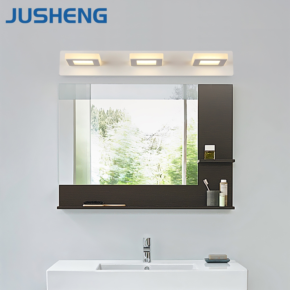 Jusheng 3 lights bathroom led mirror light with waterproof driver jusheng 3 lights bathroom led mirror light with waterproof driver white acrylic led wall lamps indoor in wall lamps from lights lighting on aliexpress aloadofball Images