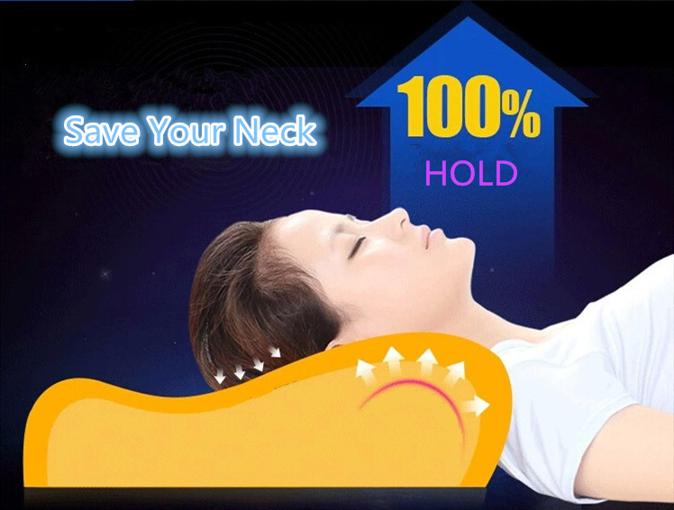 Orthopedic Latex Magnetic Neck Pillow 6