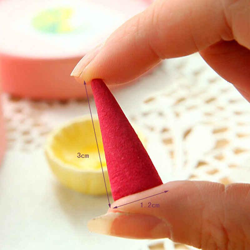 Natürliche Duftenden Weihrauch Sticks Pagode Parfüm Gewürze Sandelholz Weihrauch Kegel Mit Tablett Haushalt (über 40 stücke/1 box)