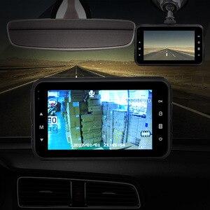 Image 3 - AOSHIKE 3 InchTouch HD 1080P samochodowy rejestrator do lusterka wstecznego 720P pojedynczy rekord wyświetlacz samochodowy DVR kamera samochodowa TFT LCD