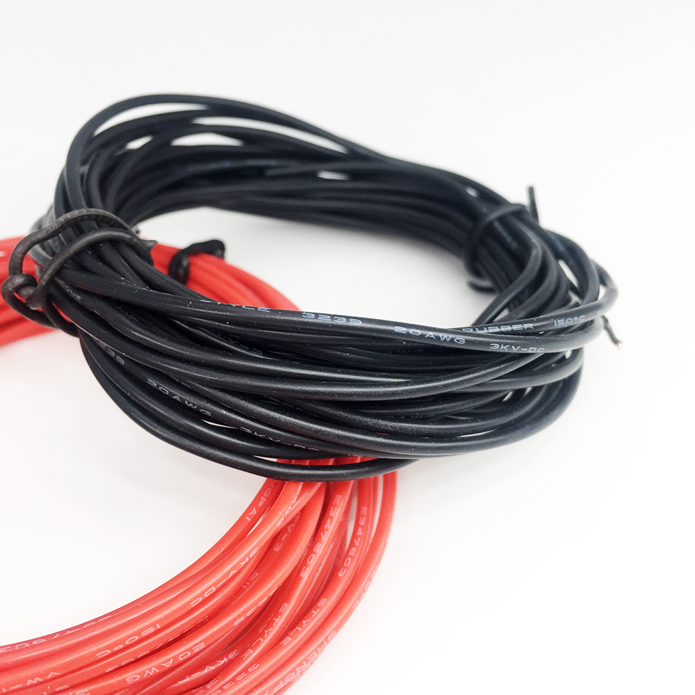 2X3 Meters 20 AWG Tinned copper silicone Rubber wire High ...