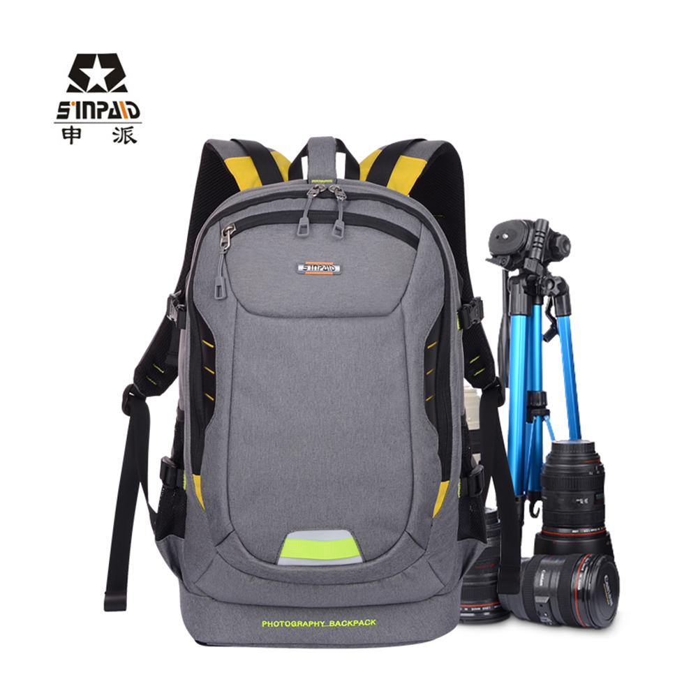 SINPAID Professional Digital Camera Travel Backpack Waterproof DSLR Photography Lens Bag Cases for Canon Rebel Nikon Sony Pentax sinpaid professional digital camera travel backpack waterproof dslr slr photography bag cases for canon rebel nikon sony pentax