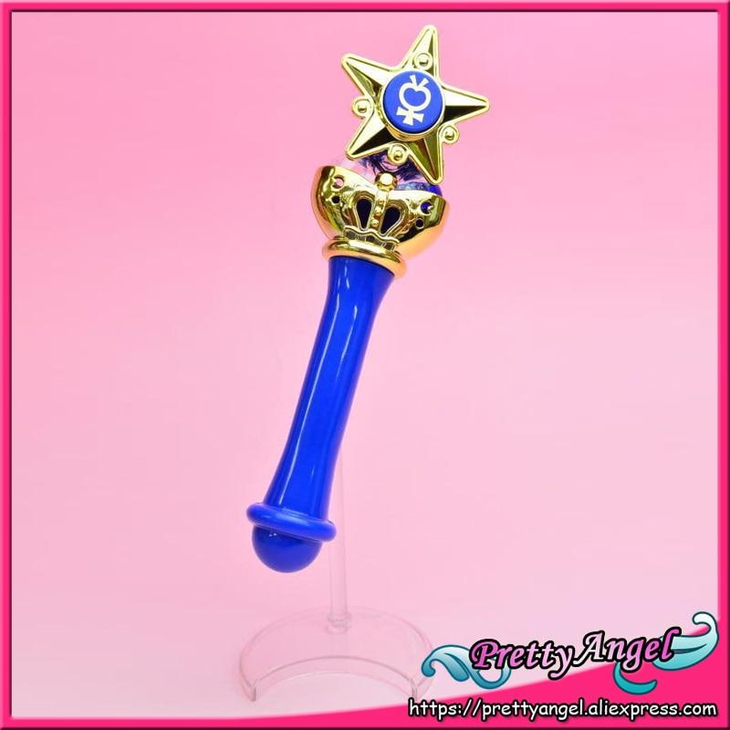 Original Bandai Sailor Moon Crystal 20th Anniversary Gashapon Sailor Moon Wand Charm Part 1 Henshin Rod & Stick - Sailor Mercury sailor moon disguise and transformation pen mascot charm gashapon set of 5 100% original