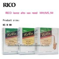 RICO Lavoz Alto Sax Reed MH MS M 3 Types Eb Saxphone Reed Box Of 10