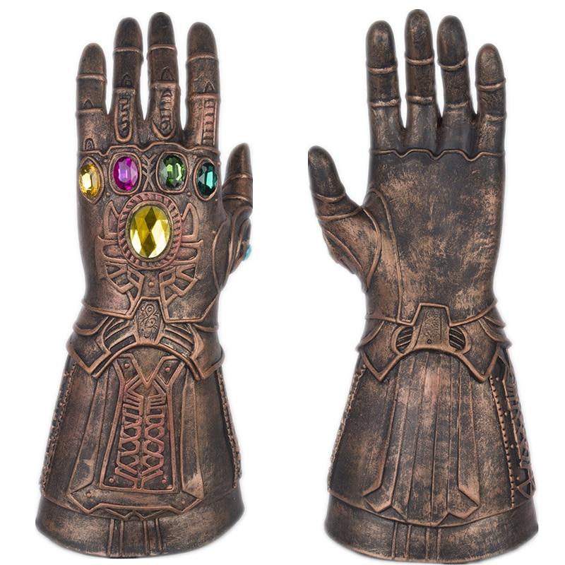 新しい映画アベンジャーズ:無限大戦争thanosさん手袋コスプレ無限大ガントレットハードラテックス宝石鎧