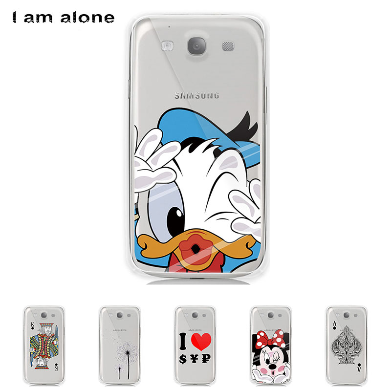 Case For Samsung Galaxy S III S3 I9300 4.8 inch Solf TPU Silicone Color Paint Mobile Phone Cover Bag Cellphone Shell Skin Mask