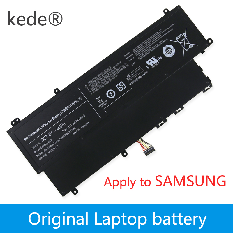 Kede 7.4 V 45Wh batterie d'ordinateur portable AA-PBYN4AB AA-PLWN4AB BA43-00336A Pour SAMSUNG 530U3B NP530U3B 530U3C NP530U3C 532U3C NP532U3C