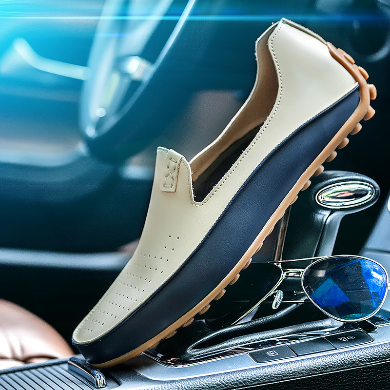 Brand Spring and Autumn Causal Shoes Men Loafers Leather Moccasins Men Driving Shoes High Quality Flats For Man Big size 36-47Brand Spring and Autumn Causal Shoes Men Loafers Leather Moccasins Men Driving Shoes High Quality Flats For Man Big size 36-47