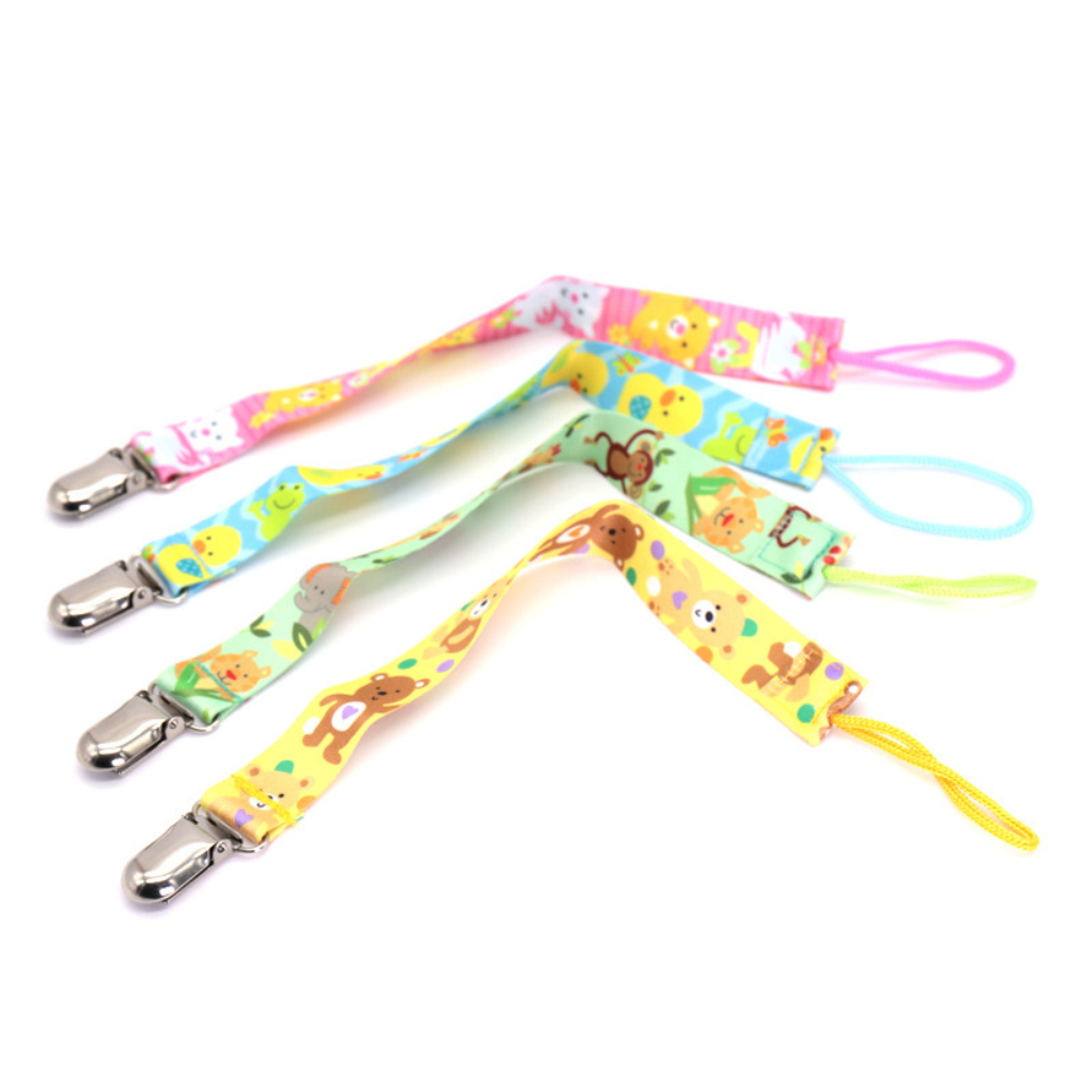 New Baby Pacifier Clip Pacifier Chain Dummy Clip Nipple Holder For Nipples Children Pacifier Clips Soother Holder