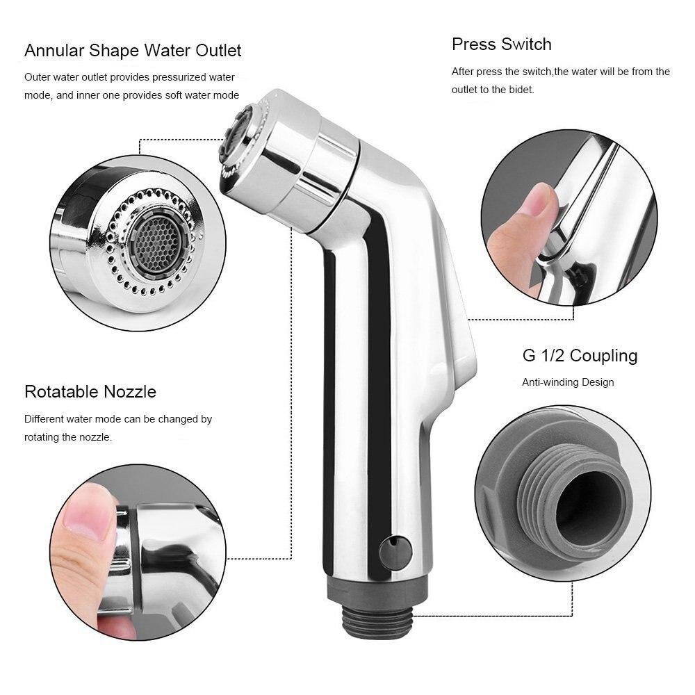 Miraculous Us 32 55 12 Off Hot Bidet Spray Set Water Sprayer Toilet Brass G1 2 Machost Co Dining Chair Design Ideas Machostcouk
