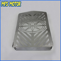 Freeshipping Radiator Grille Cover Stainless Protector Fit For Yamaha XVZ13 Royal Star Chrome