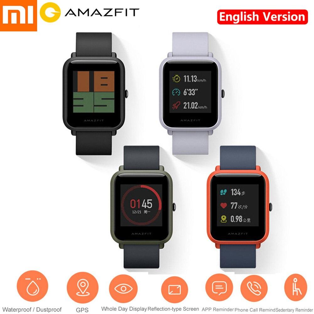 Здесь продается  Xiaomi Huami AMAZFIT 2.5D Gorilla Screen Smartwatch IP68 Waterproof Heart Rate Sleep Monitor GPS Youth Smart Watch Phone English  Бытовая электроника