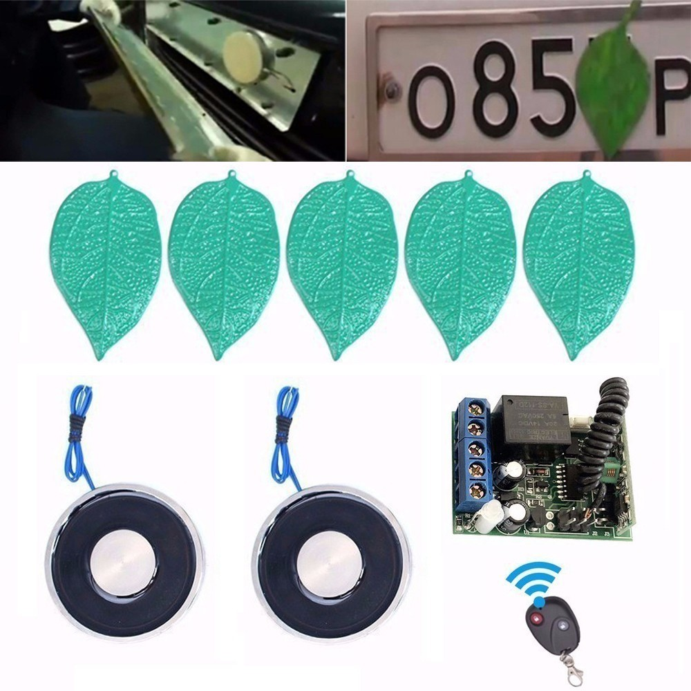 (Manual Control) 70x9mm Electromagnet 12V/24V Disappear Car License Plate Number Holding Electric Sucker Electro Magnet electric