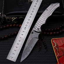 Outdoor folding knife self-defense wilderness survival with high hardness knife wild fruit knife fish scales цены онлайн