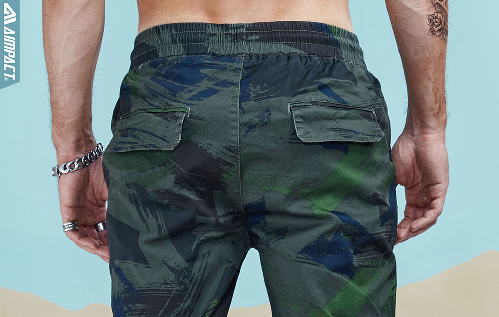 Aimpact 2018 Spring Men Casual Fashion Camo Jogger Pant Man Cotton Fitted Trace Twill Pant Male Straight Tapered Trousers AM5011 (6)