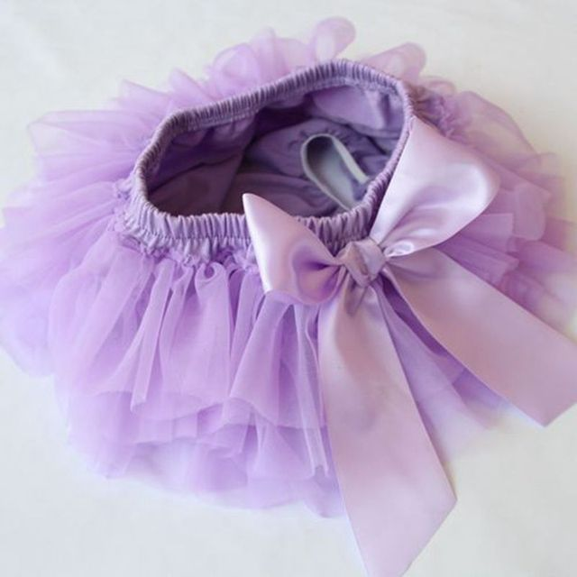Ruffle Diaper Cover with Hair Bow