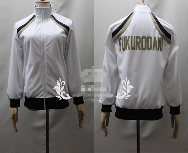 [Customized] Anime Haikyuu Fukurodani Academy Volleyball Team Uniform Cosplay Clinquant Velvet Unisex Coat Free Shipping