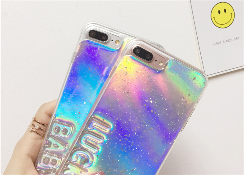 coque iphone x holographique
