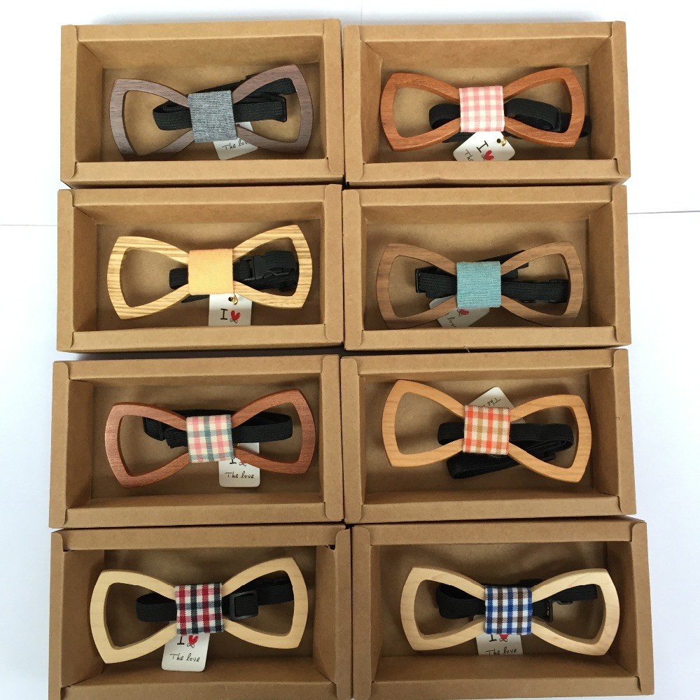 America Europe wedding new customized Personality wooden bow tie for men bar party luxury beautiful bowknot Christmas gifts