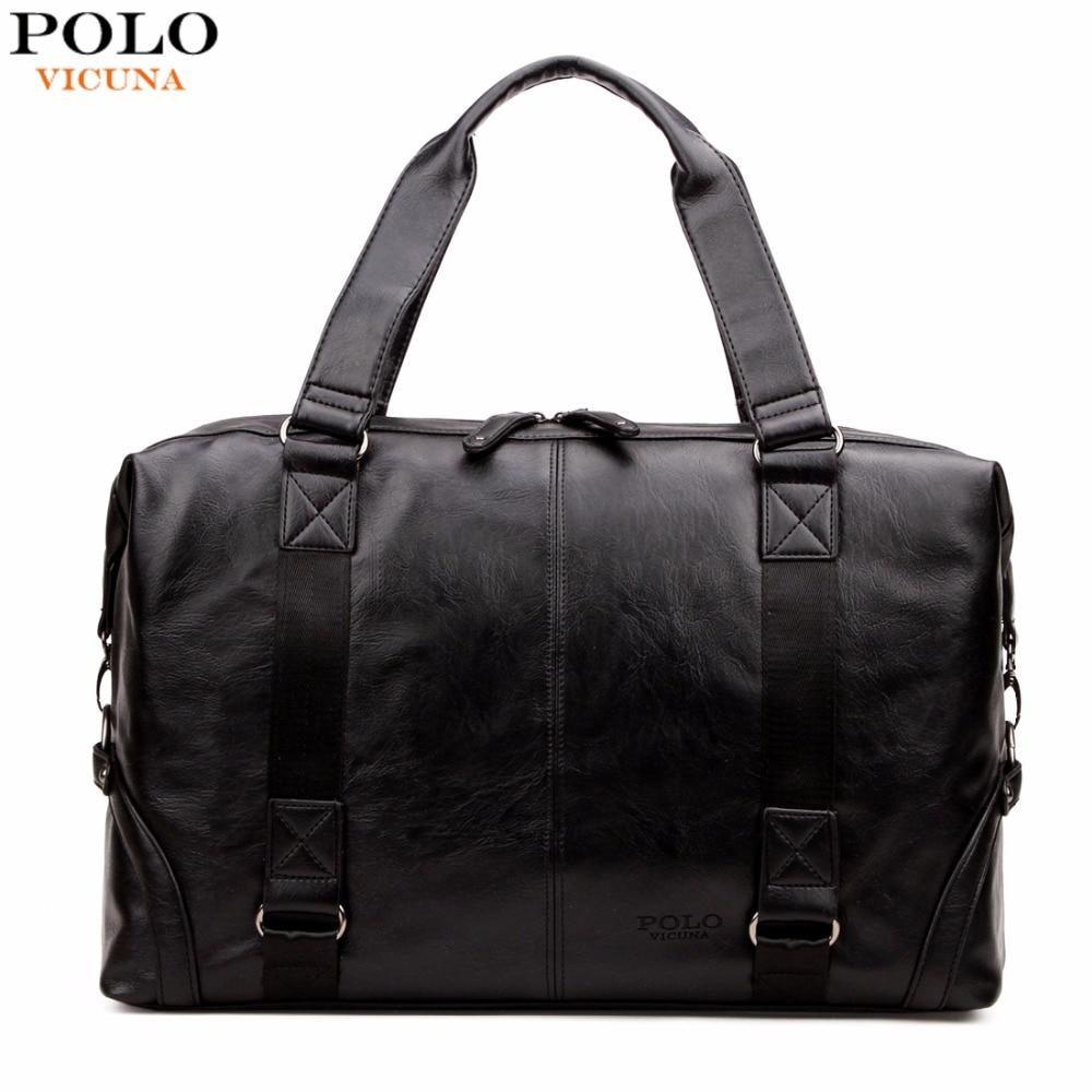 Викуньи поло Молл Чехол большой Ёмкость мужская кожаная дорожная сумка Повседневное Чемодан Сумка многофункциональная сумка BOLSOS