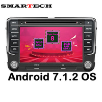 2 Din VW Tablet PC Android 6 0 Car DVD Player For VW Volkswagen Passat POLO